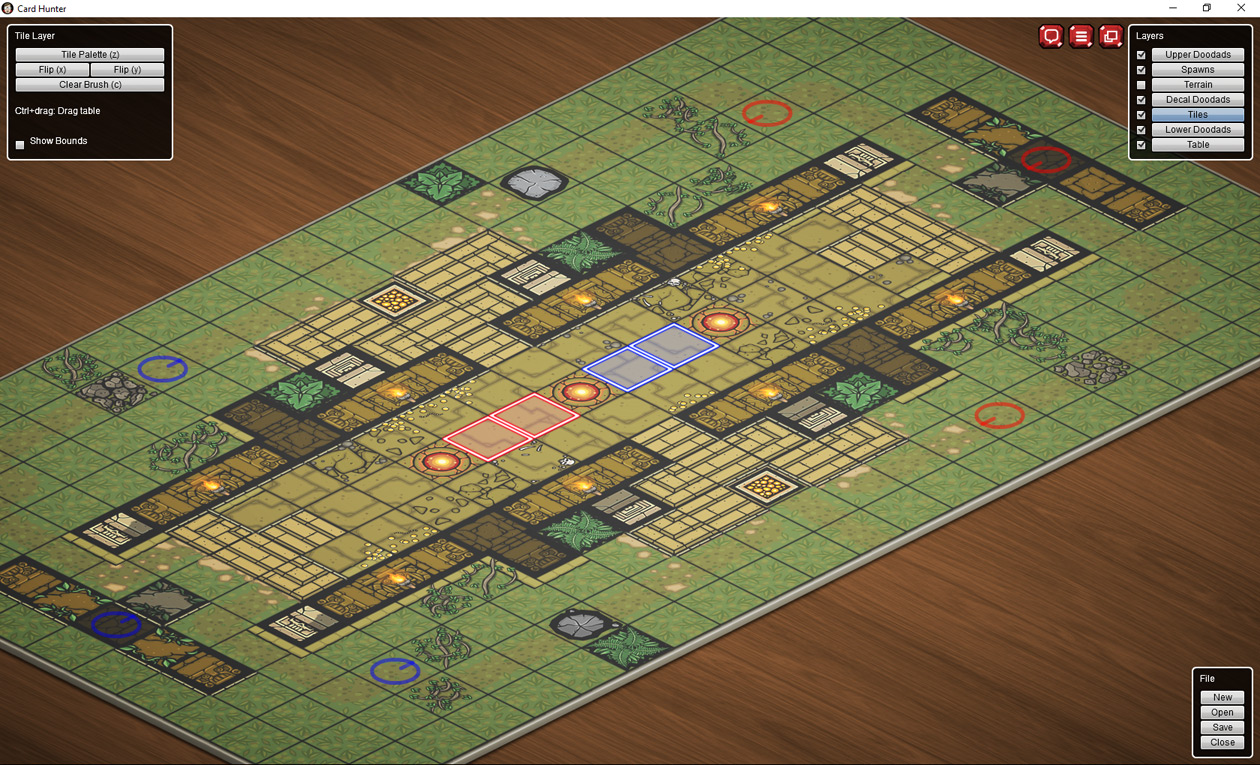 Card Hunter map image